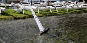 Voile radiocommandée & catamarans centre de voile Bordeaux Lac