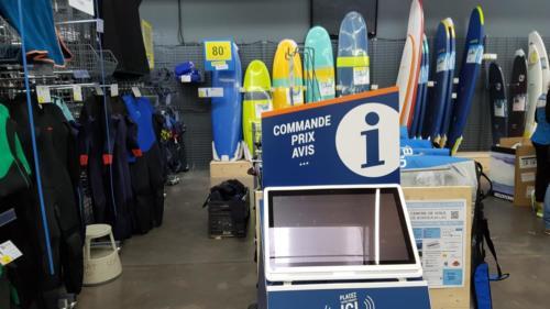 Decathlon affiche la Journée Portes Ouvertes 2018 du Centre de Voile Bordeaux-Lac